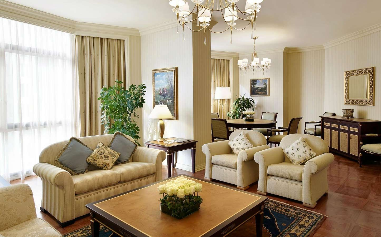 Living Room Kuwait luxurious suite - sheraton kuwait, a luxury collection hotel